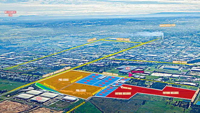 Pellicano sells final lots at Dandenong South masterplanned Innovation Park