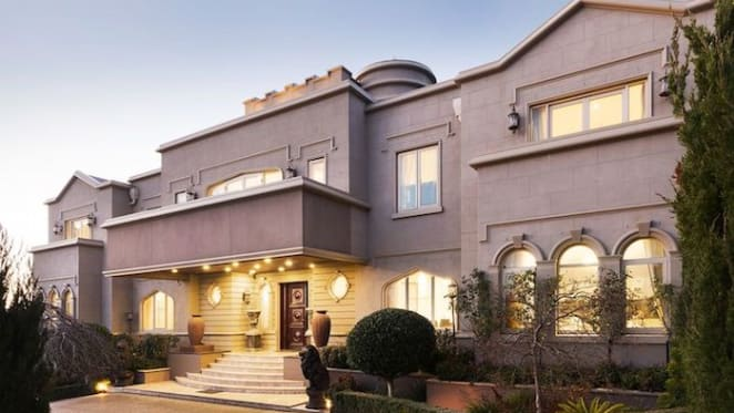 Ivanhoe East trophy home with city views listed