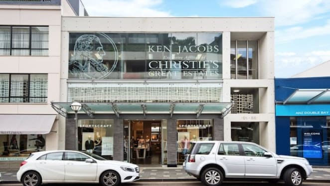 Ken Jacobs Christie's International and Sportscraft Double Bay premises listed