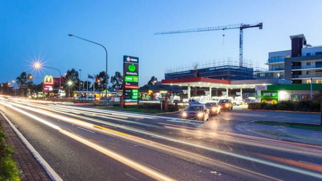 Caltex service station in Kellyville sold for record $9.4 million