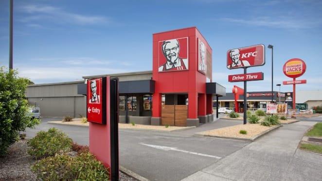 KFC Mentone up for sale