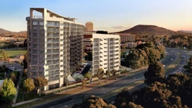 Sales suspended on Canberra Aalto apartment project following LMIM collapse