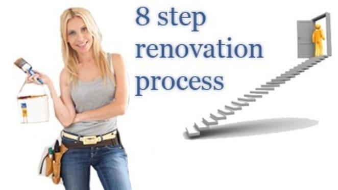Cherie Barber's eight step renovation process