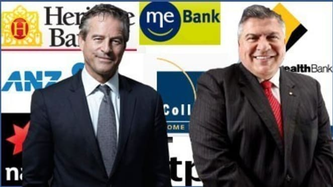 Mark Bouris and John Symond slam Treasurer Wayne Swan for allowing major banks to dominate mortgage market