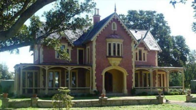 Longerenong Homestead near Horsham with bush Gothic grandeur