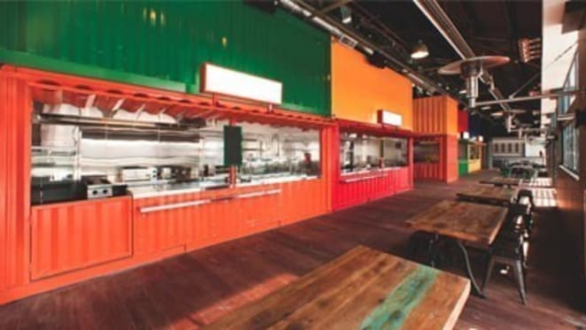 Plenary Group attracts budding chefs to shipping container food hall concept at Melbourne's South Wharf