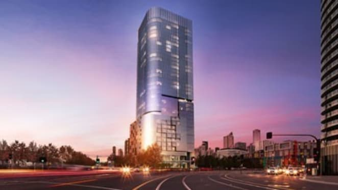 Matthew Guy approves 37-storey hotel and apartment tower at Digital Harbour in Docklands