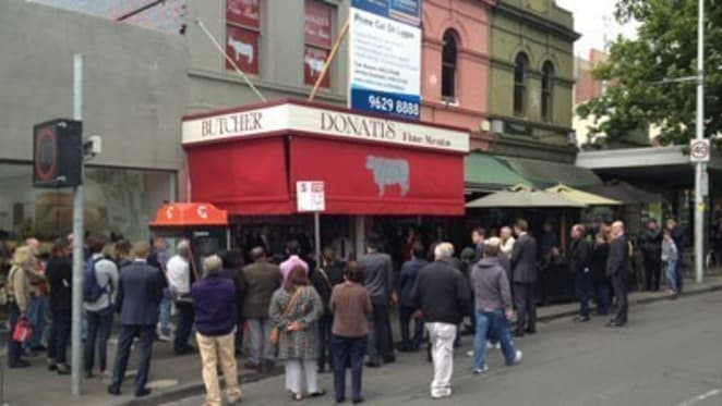 Lygon Street premises of Donati's Fine Meats smashes records with emotion-driven $2.89 million sale at auction