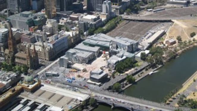 """Victorian government turns to private developers to fill Federation Square East """"black hole"""""""