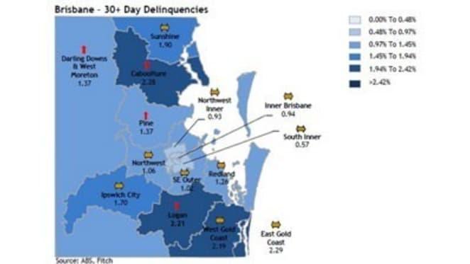 Gold Coast trumps Sunshine Coast as most delinquent Queensland coastal market