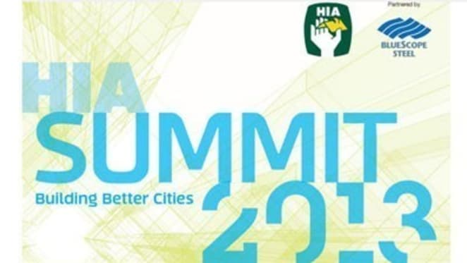 HIA summit to address Australia's affordability and availability housing challenges with stellar line-up of speakers