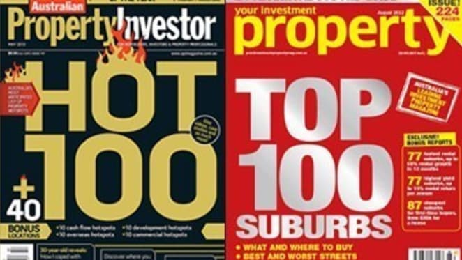 Investor magazines' 2011 unit hotspots are more misses than hits two years on