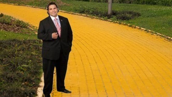 Apprentice no longer, Andrew Morello further along the Yellow Brick Road