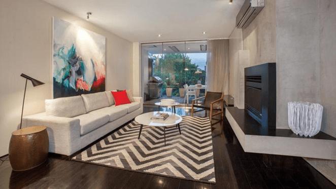 Chris and Rebecca Judd lease redundant Prahran home as $1,999 a week rental