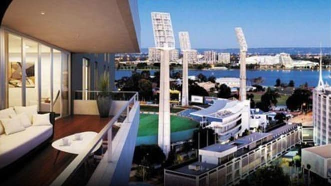 Frasers' QIII apartment tower rising above WACA scores double century of sales, with foreign buyers prominent