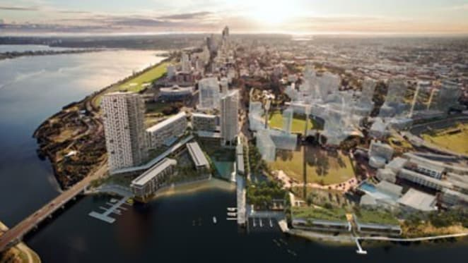 Lend Lease signs deal for $1 billion Perth riverside project to feature 600 apartments