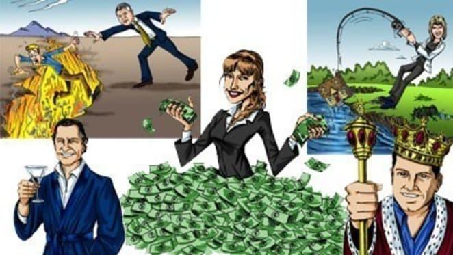 From Mark Bouris to John Symond: Property market gurus glorified in website marketing gimmick