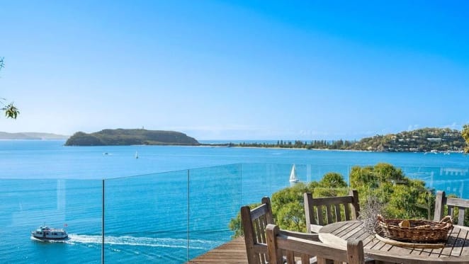 Futurist Anders Sorman-Nilsson buys at Great Mackerel Beach