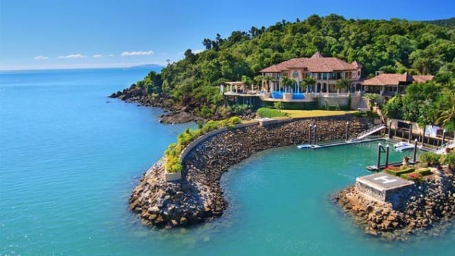 Airlie Beach waterfront residence the Mandalay House for sale