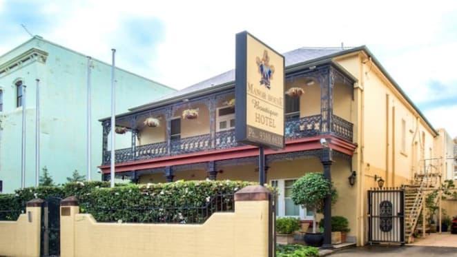 Darlinghurst's Manor House Hotel premises for sale