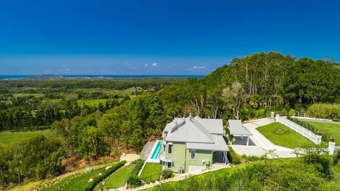 Ingham chicken family heir Tom Ingham lists Byron Bay hinterland home