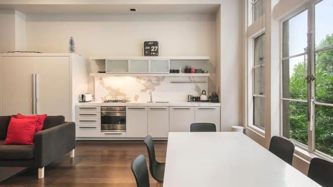 Huxtaburger owners list historic Melbourne apartment