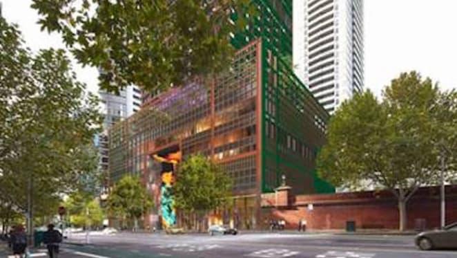 French and Australian design collaboration on 383 La Trobe Street, Melbourne landmark