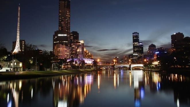 Where does Melbourne's Southbank rank for commercial property?