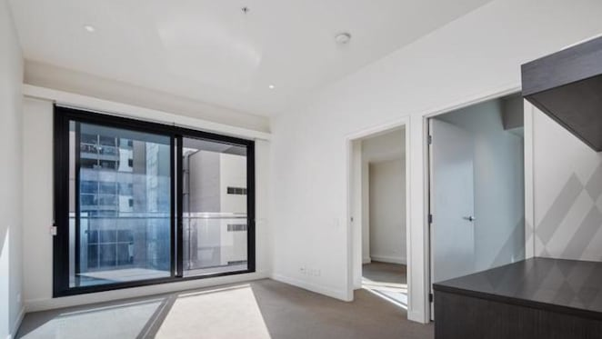 The William, Melbourne inner city two bedroom apartment scheduled for auction by mortgagee