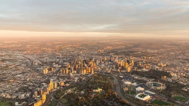 Melbourne yet to catch Sydney as national house price growth halves: ABS