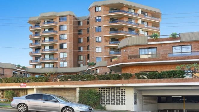 Two bedroom Miranda, NSW apartment listed by mortgagee