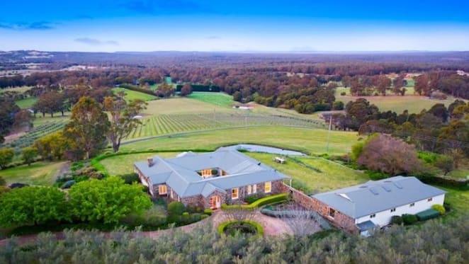 Southern Highlands estate set amongst vineyards and olive groves listed
