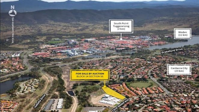 New community facility site in Monash, ACT listed
