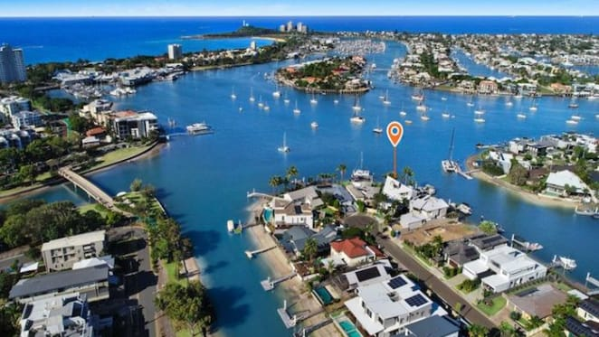 Waterfront Mooloolaba trophy home sold