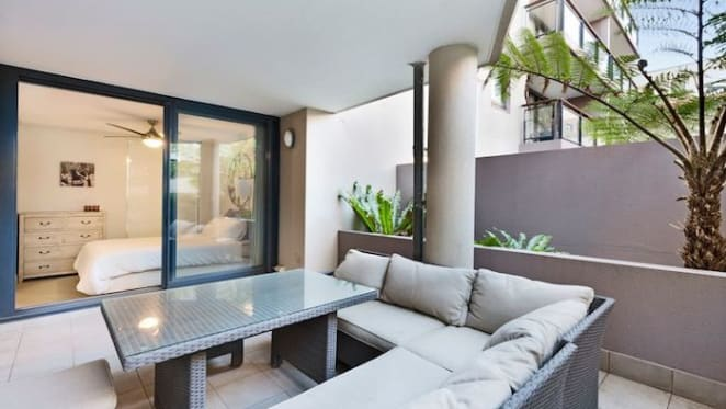 Nova's Matt de Groot lists Mosman apartment