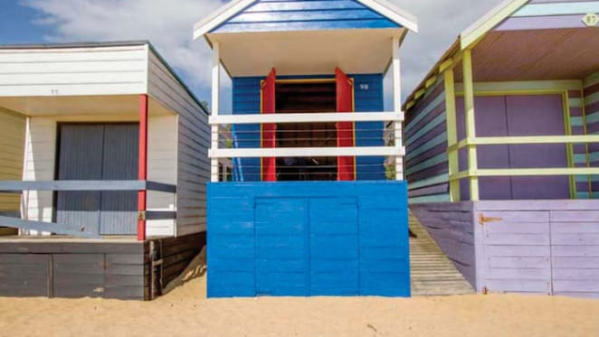 Recently restored Mount Martha beach box listed