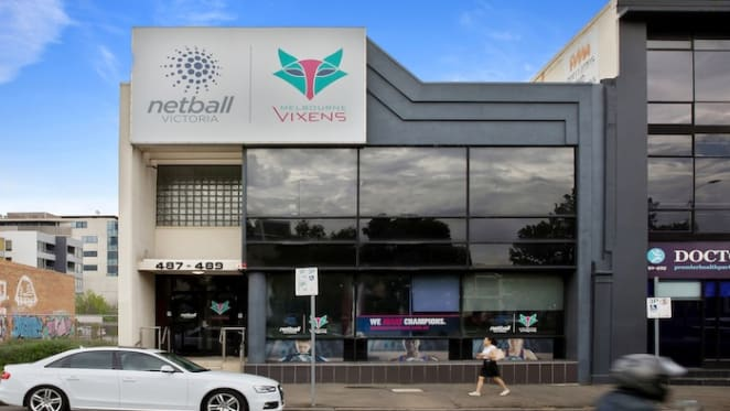 Netball Victoria's west-Melbourne office building listed for sale