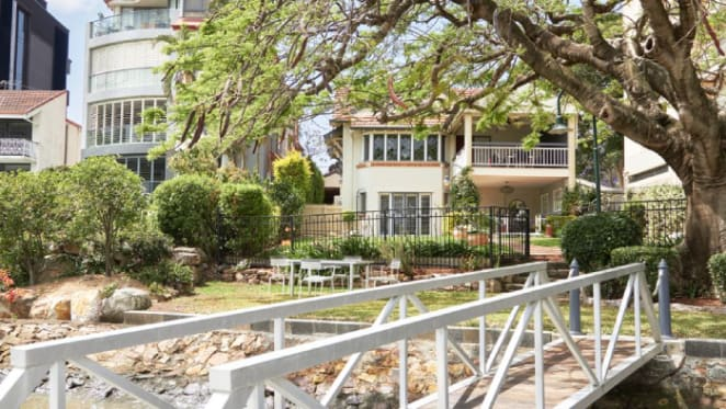 Spanish Mission-style New Farm waterfront trophy home The Ripples listed