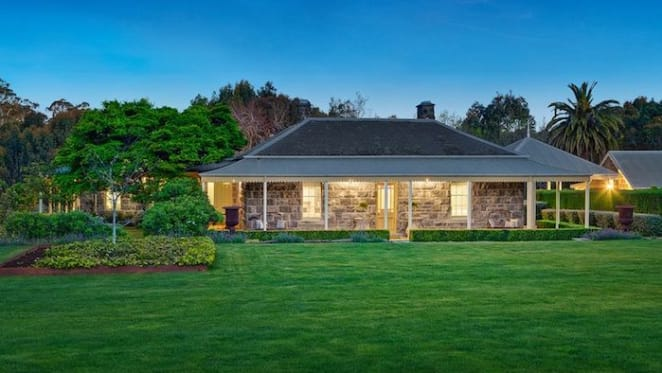 Regional Victorian trophy home the Mill House on the market