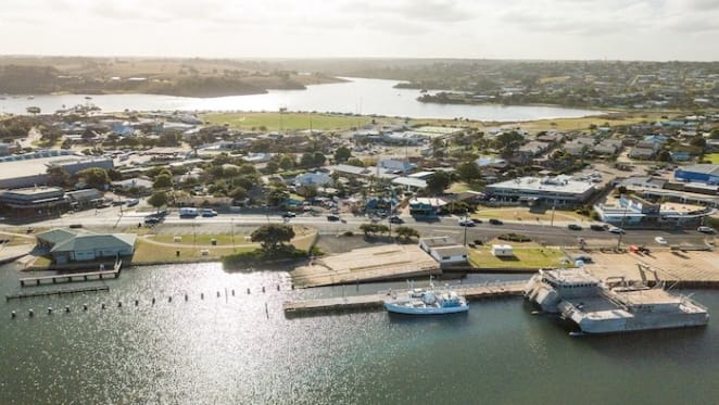 The Old Slipway on Gippsland Lake listed as development opportunity