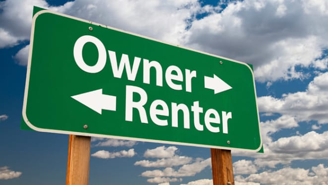 Lower and higher income households seeking out private rental market