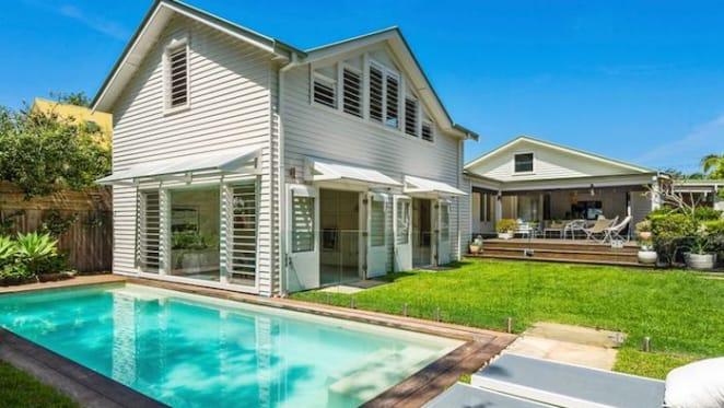 Sandy Point Beach house in Palm Beach listed