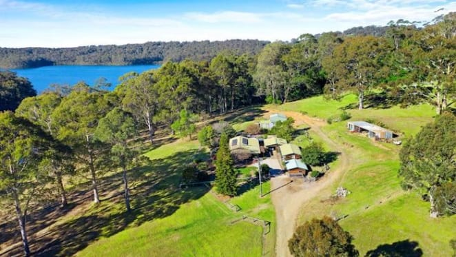 Narooma waterfront home with private jetty listed