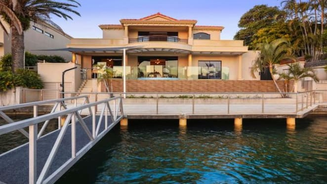 Adelaide hoteliers have listed their Surfers Paradise holiday home