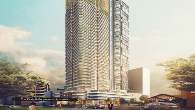 The Peak project site at Parramatta sold by CWG to Aland