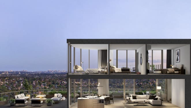 The Langston penthouse sells for new Epping apartment record