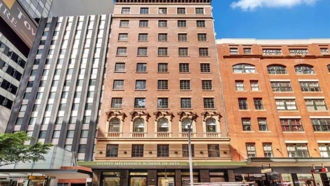 Sydney Mechanics' School of Arts set to sell 10-storey tower