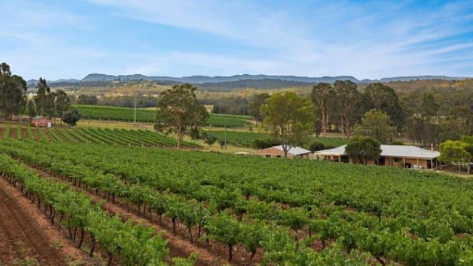Duck Hollow vineyard in Hunter Valley sells