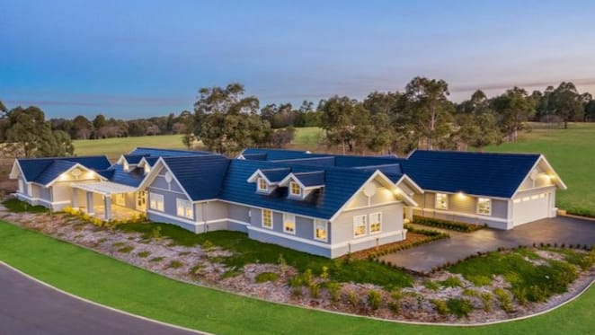 Hamptons-style mansion in the Hunter Valley listed