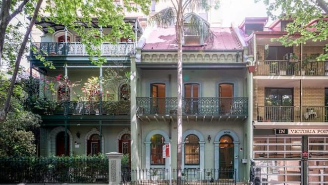 Victorian 1870 terrace in Potts Point scheduled for auction